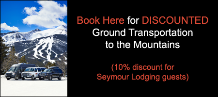 10% Ground Transportation Discount for Seymour Lodging Guests