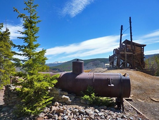 Sallie Barber Mine, photo courtesy of ProTrails
