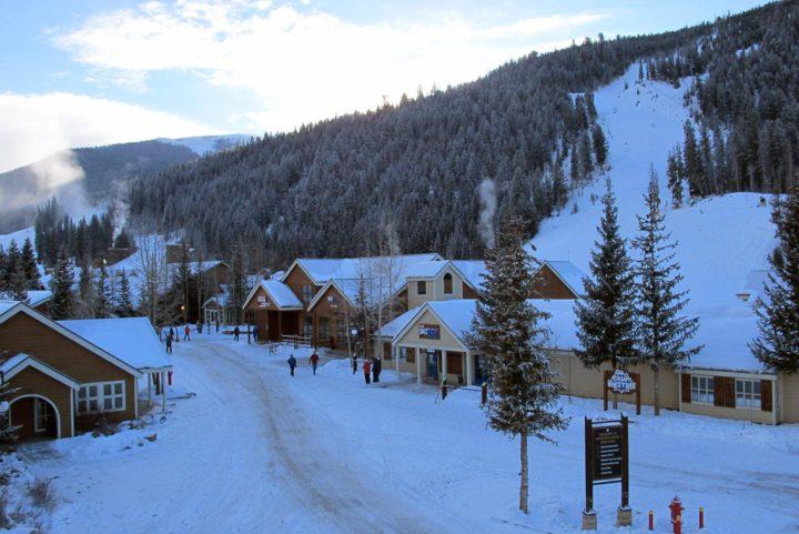 The Retreat duplex house in the Keystone Ski Area
