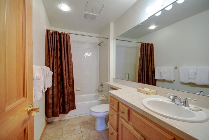 Private bath for Bedroom 3