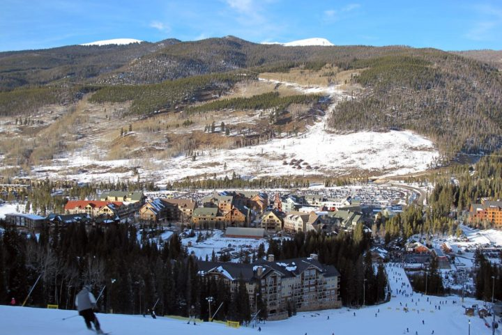 Ski Run Condominiums, slopeside in the Keystone Ski Area