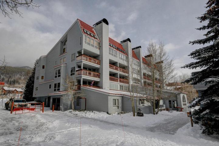Liftside Condominiums slopeside in Keystone Ski Area