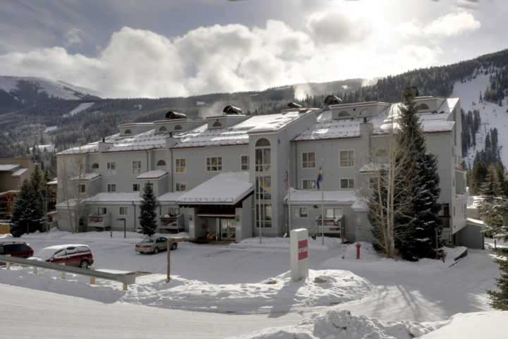 Liftside Condominiums slopeside in Keystone Ski Area