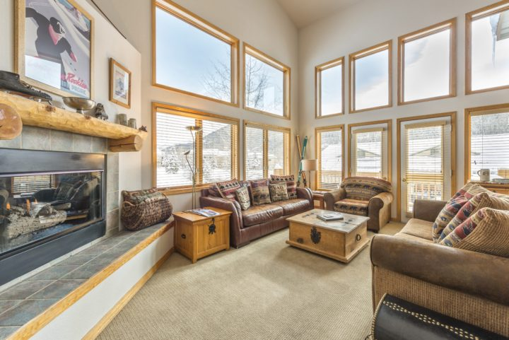 The Retreat duplex house in the Keystone Ski Area