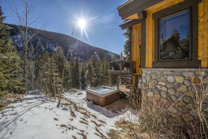 282 Elk Crossing, hot tub views