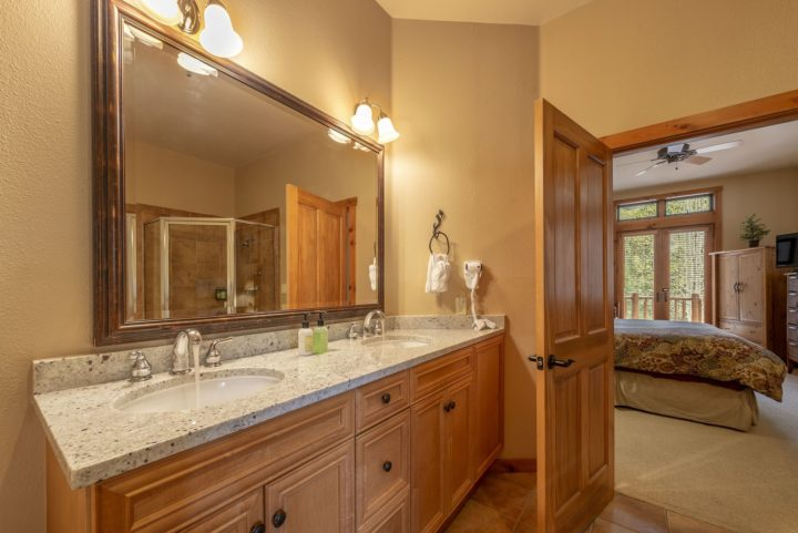 Master Bath (new granite counter; double sinks)