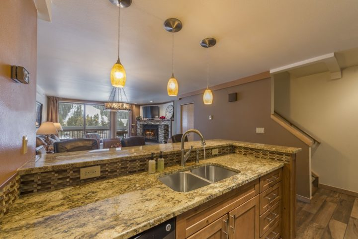 New granite counters in kitchen and all 3 baths
