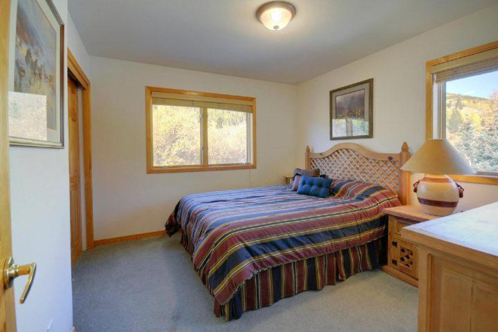 Unit 180--Bedroom 2 (Queen bed; hall bath)