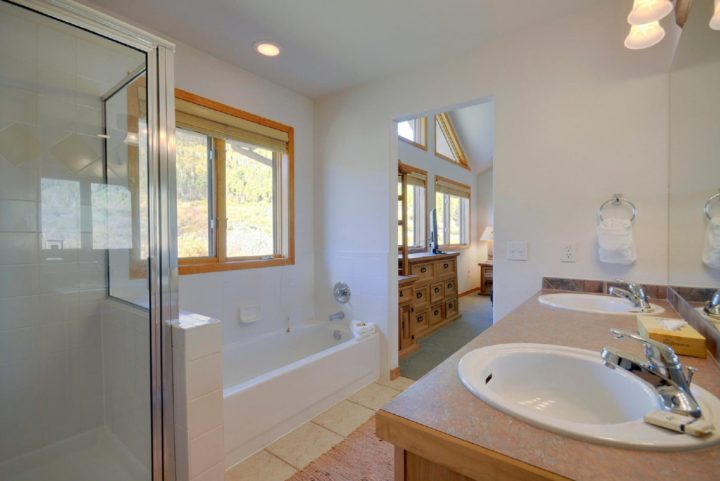 Master Bath (double sinks and walk-in shower)