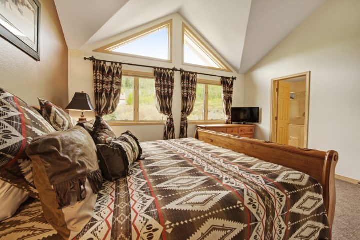 Master Bedroom (open views of the national forest)