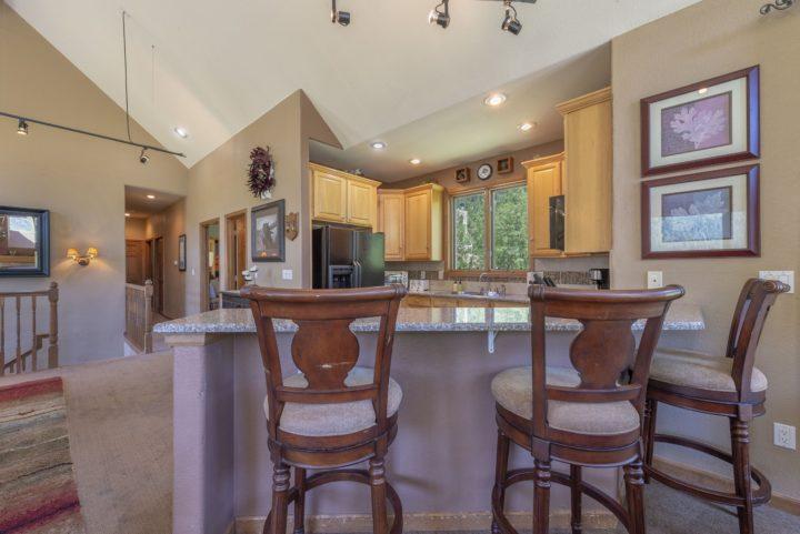 New granite kitchen counters