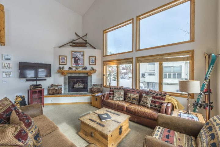 Unit 180--Living room area