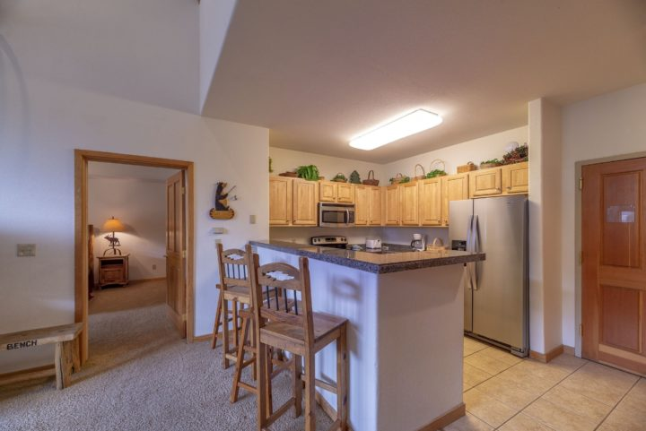Full kitchen with all new stainless steel appliances.