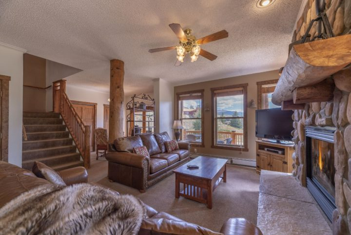 Main Living Room (Middle level of 3 floors).