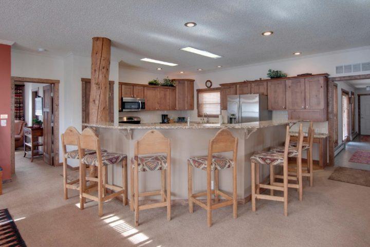 Main kitchen (counter seats 8)
