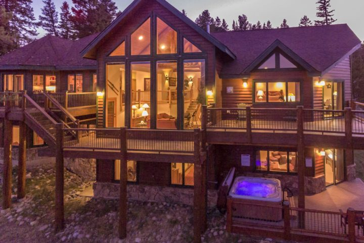 253 High Meadow Drive--Magnificent 5BR/5 Bath luxury Keystone home. 4 decks--10 mile view!
