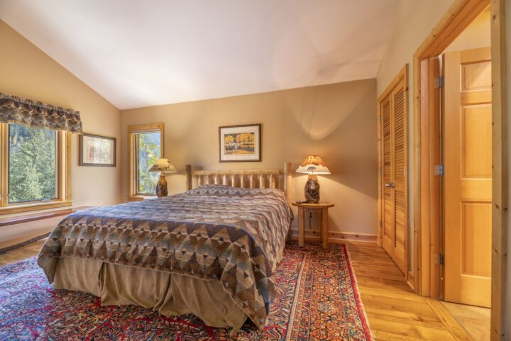 Master Bedroom 1 (King bed; 3rd TV; private bath). All bedrooms have private baths.