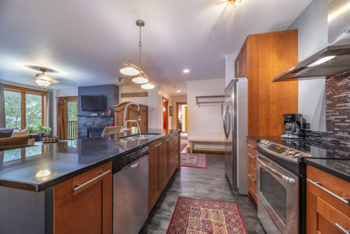 Kitchen is fully equipped with all major appliances and cooking supplies.